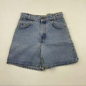 Vintage 512 Levi's High Waist Jean Shorts